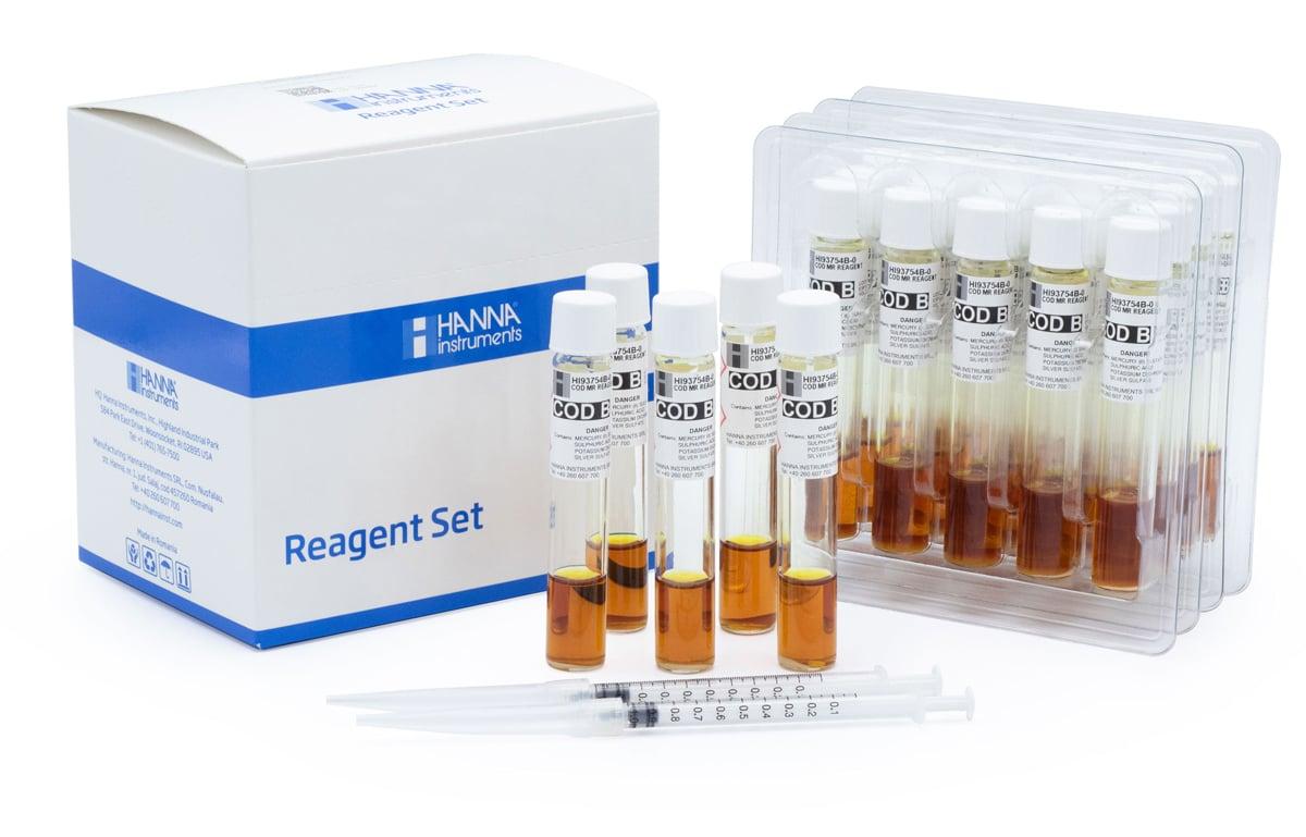 COD Medium Range Reagent Vials, EPA Method - HI93754b-25
