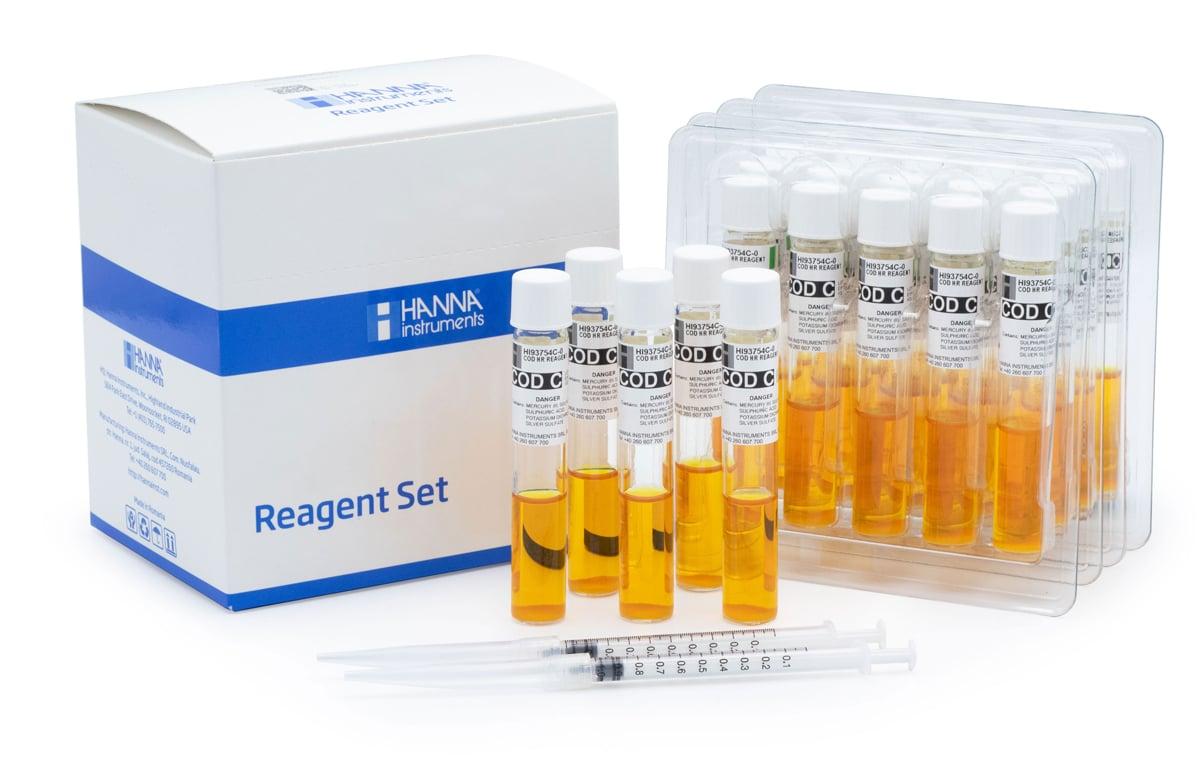 COD High Range Reagent Vials, Dichromate Method - HI93754c-25